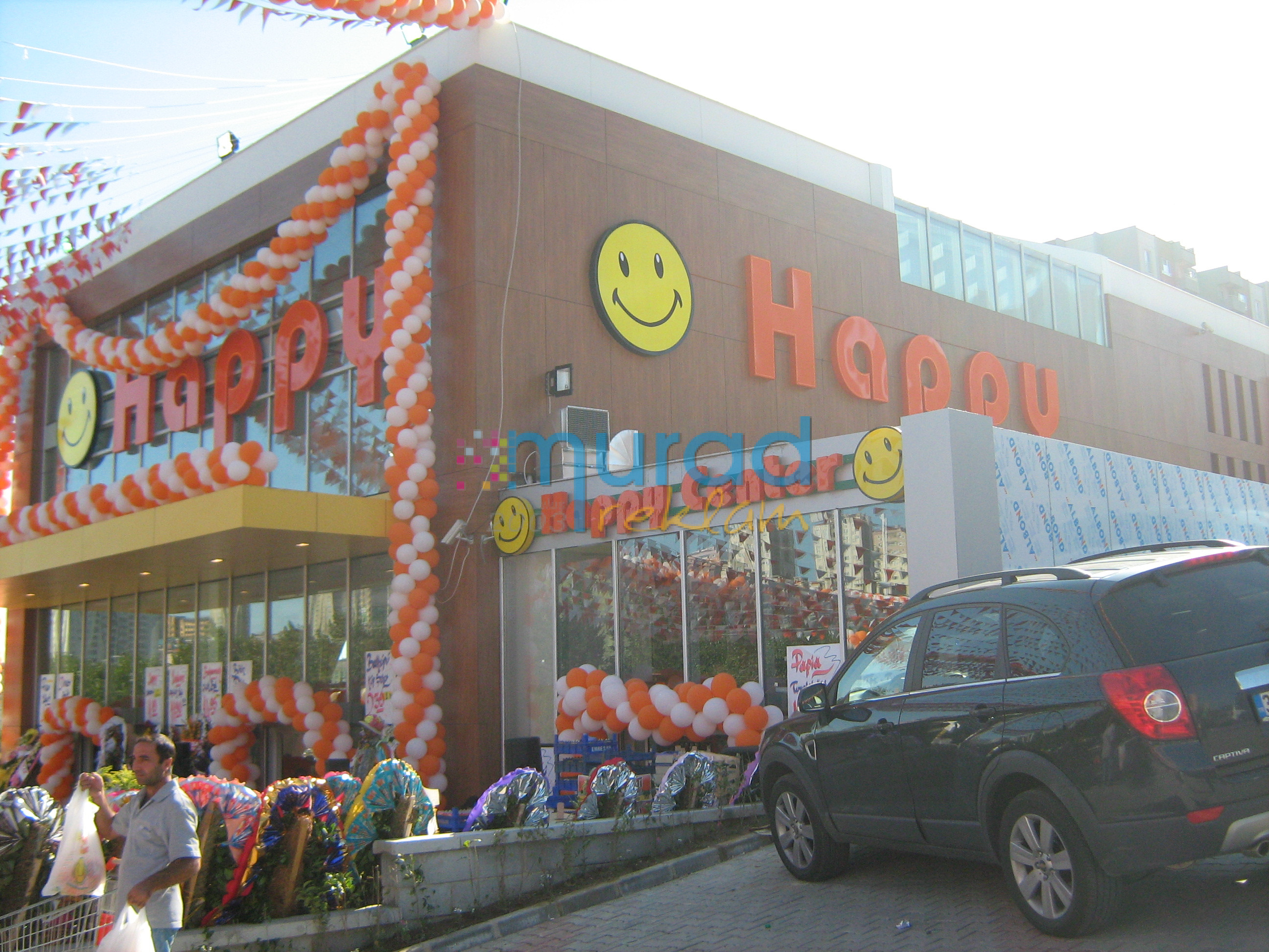 Murad reklam happy market